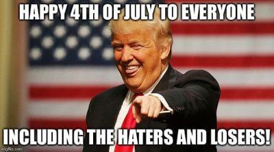 Happy Fourth of July Trump Memes 2020