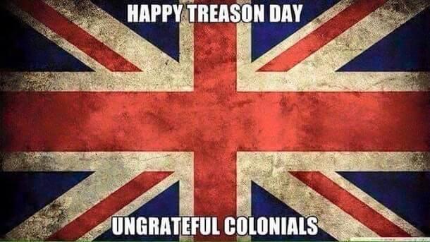 British 4th of July memes