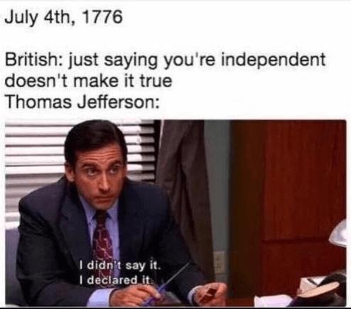 patriotic 4th of July memes